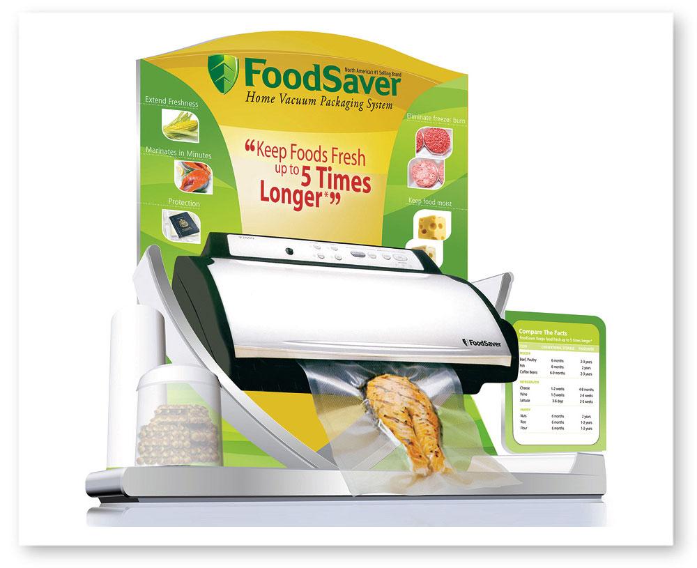 Foodsaver Display