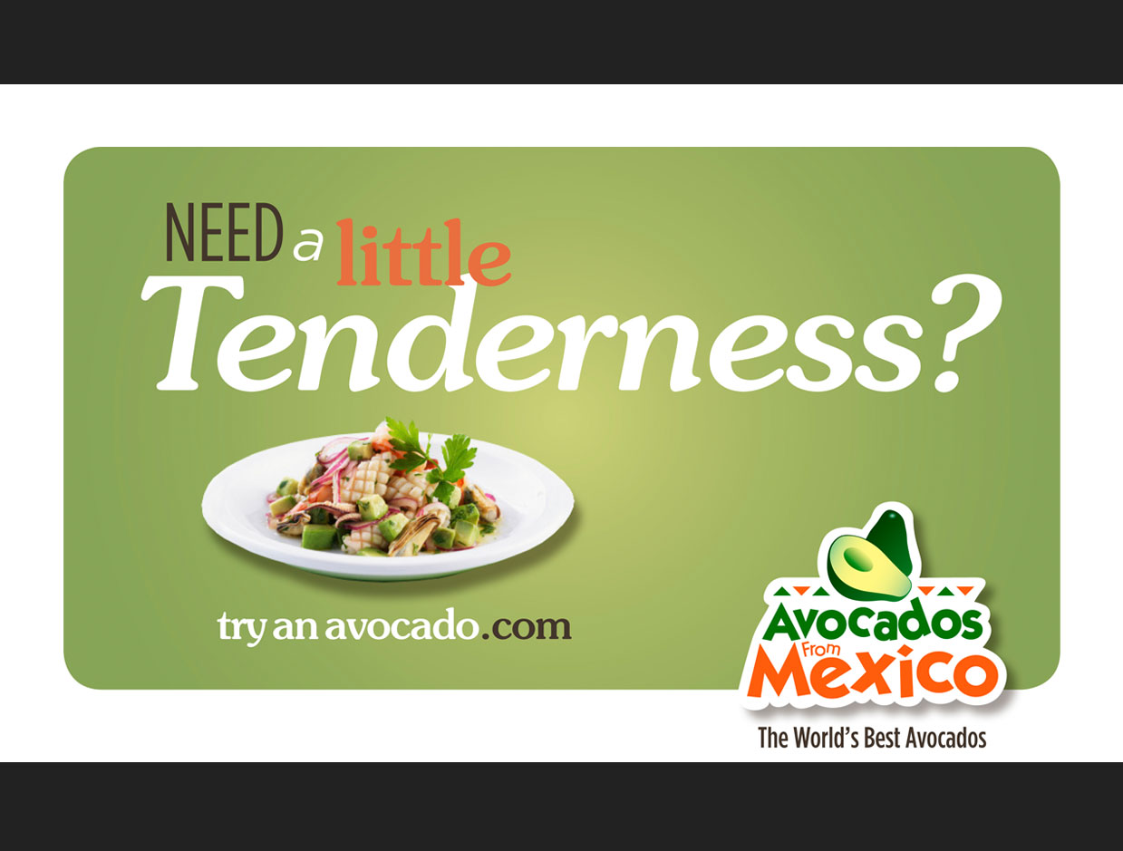 Advertising Avocados from Mexico